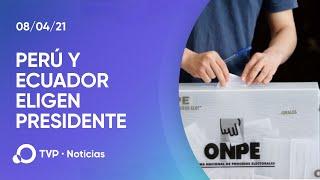 Elecciones presidenciales en Perú y Ecuador