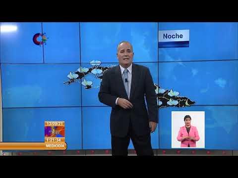 Actualización meteorológica de Cuba