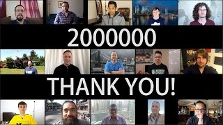 2 MILLION Thank Yous!!