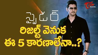 5 Reasons For Spyder Getting This Result