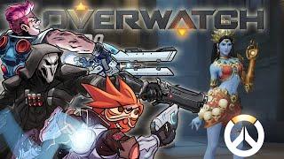 Overwatch Beta - New Skins, Emotes, Tags, etc!!!