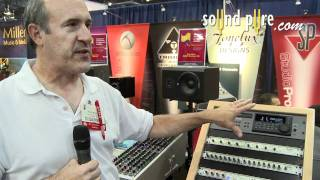 Tonelux OTB16 Channel Summing Mixer Demo at AES 2011