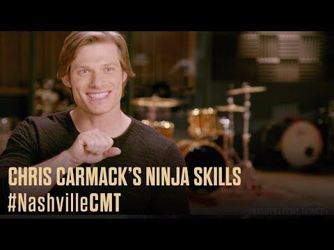 connectYoutube - NASHVILLE ON CMT | Chris Carmack Relives His Ninja Skills