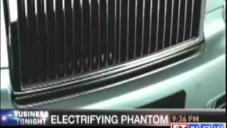 Rolls Royce Phantom road test by ETNOW