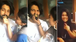 Chiranjeevi Daughter Srija With Husband Cute Moments | Sreeja Kalyan Dev Funny Moments - RAJSHRITELUGU