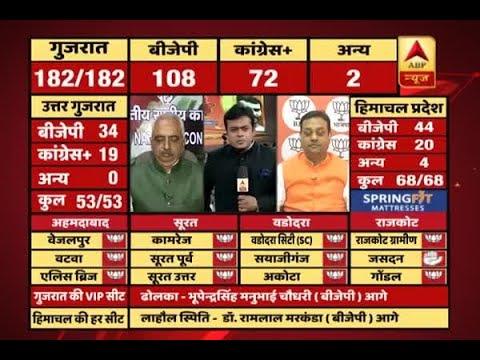 #ABPResults : Akhilesh Singh Vs Sambit Patra: Have Alpesh, Jignesh, Hardik helped Cong in