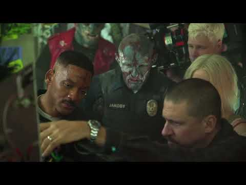 Netflix's Bright: Behind the Scenes Movie BROLL- Will Smith