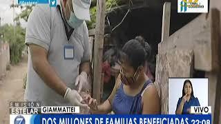 2 millones familias serán los beneficiados con el Bono Famili