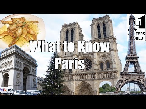 connectYoutube - Visit Paris - What to Know Before You Visit Paris, France