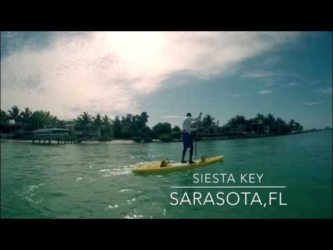 2017 Sarasota,FL paddle boarding  - Siesta Key Beach