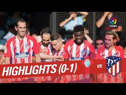 Resumen de RC Celta vs Atlético de Madrid (0-1)