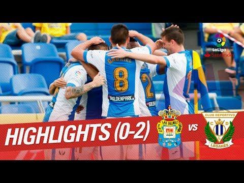 Resumen de UD Las Palmas vs CD Leganés (0-2)