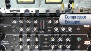 A Designs Nail Stereo Compressor HM2 - Threshold & Hard Threshold Demo
