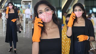 Balakrishna Heroine Natasha Doshi Spotted At Hyd Airport | Celebrities At Airport | TFPC - TFPC