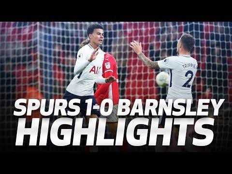 HIGHLIGHTS | Spurs 1-0 Barnsley (Carabao Cup third round)