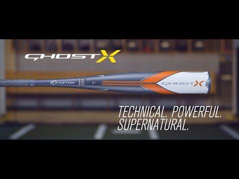 Easton Ghost X USSSA Baseball Bats | 2018 Tech Video