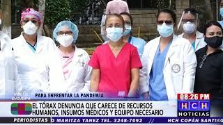 Hospital del Tórax colapsa ante Pandemia del Covid19