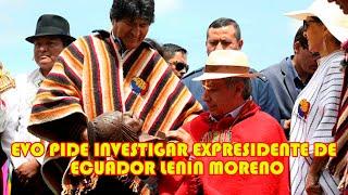 EVO MORALES EXPRESIDENTE DE ECUADOR FACILITO ARM4S PARA REPR3MIR A LOS BOLIVIANOS