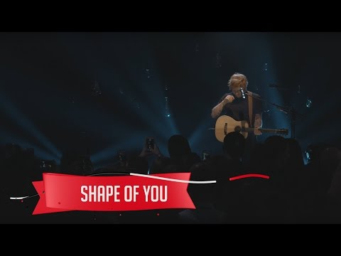 connectYoutube - Ed Sheeran - Shape of You (Live on the Honda Stage at the iHeartRadio Theater NY)