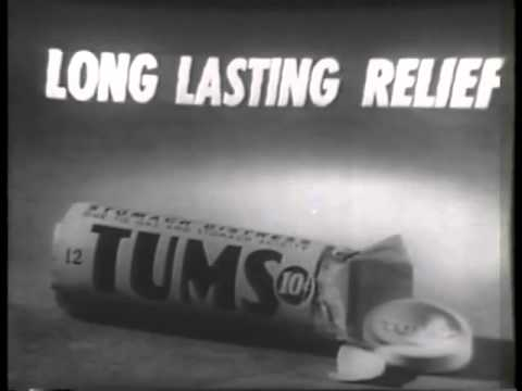 VINTAGE 1957 TUMS COMMERCIAL WITH A TALKING MYNAH BIRD