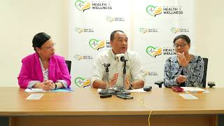 Press Conference on the Coronavirus and Jamaica's response