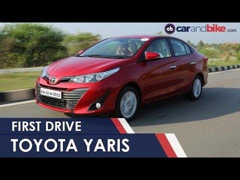 2018 New Toyota Yaris First Drive Review | NDTV carandbike