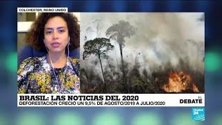 Incendios en la Amazonía, elecciones regionales y pandemia, el 2020 brasileño