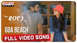 Goa Beach  Full Video Song | Ala | Bhargav Kommera,Shilpika,Malavika | Sarat Palanki - ADITYAMUSIC