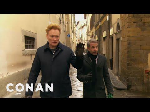 connectYoutube - #ConanItaly Preview: Conan Speaks Italian  - CONAN on TBS