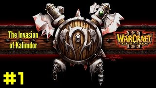 Warcraft III Reign of Chaos: Orc Campaign #1 - Landfall