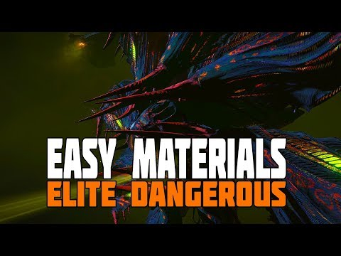 Elite Dangerous - Wrecked Stations and Easy Rare Materials - Seeking out the Medusa