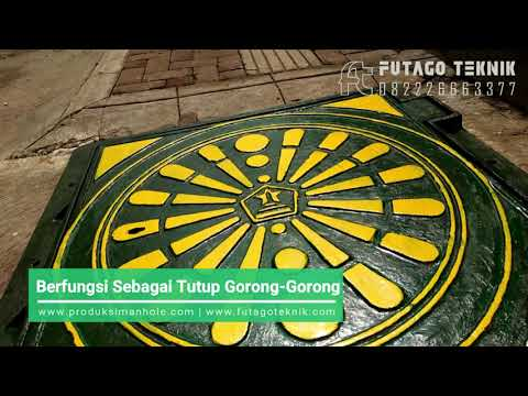 Manhole Cover Trotoar, Produk Drainase Untuk Jalur Pedestrian