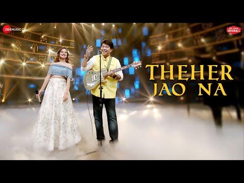 THEHER JAO NA LYRICS - Jeet Gannguli & Aakanksha Sharma | Zee Music Originals