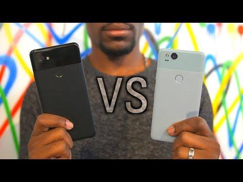 Google Pixel 2 vs Pixel 2 XL: Hands on!
