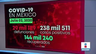 México supera 29 mil defunciones por Covid-19 | Noticias con Yuriria Sierra