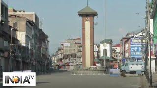 Streets of Srinagar deserted on Eid amid lockdown - INDIATV