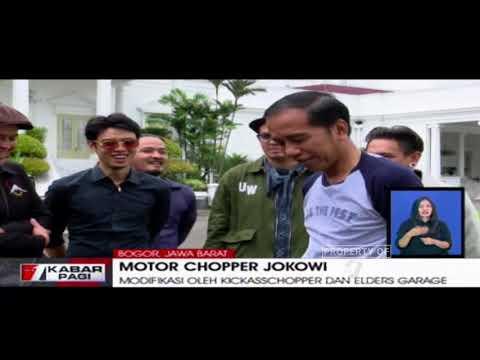 Inilah Motor Modifikasi Chopperland Jokowi Seharga 140 Juta Rupiah