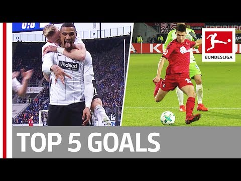 Boateng, Lewandowski and More  - Top 5 Goals on Matchday 12