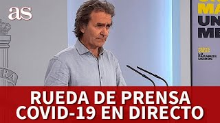 EN DIRECTO | RUEDA DE PRENSA DIARIA COVID 19 | Diario AS