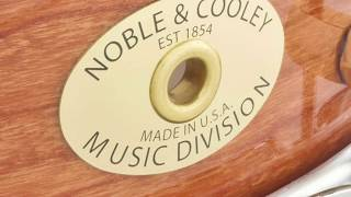 Noble & Cooley 7x14 SS Classic Cherry Snare Drum Natural, Quick n' Dirty
