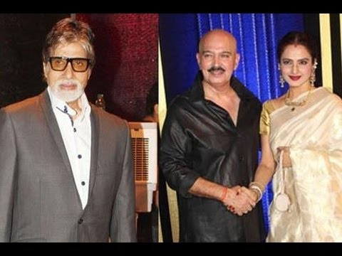 Amitabh Bachchan & Rekha Attend Rakesh Roshan's Starry Birthday Bash