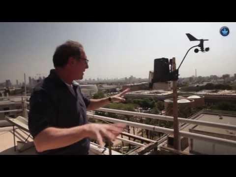 ראיון עם פרופ' קולין פרייס בנושא של ברקים וסופות רעמים באטמוספירה