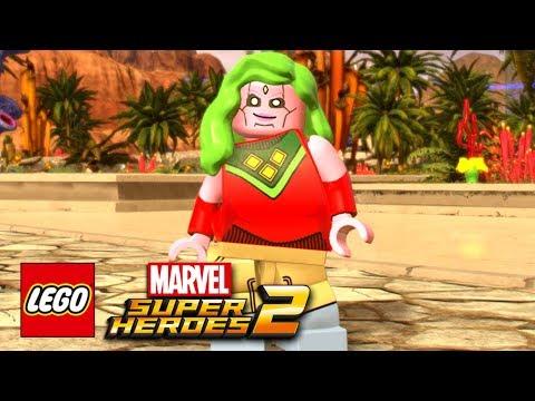 LEGO Marvel Super Heroes 2 - Viv Free Roam Gameplay Showcase