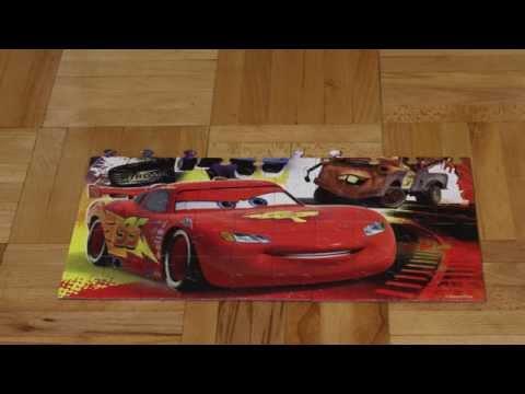 Video: Cars Mcqueen Puzzle     - Timelaps