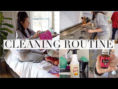 connectYoutube - My Cleaning Routine!