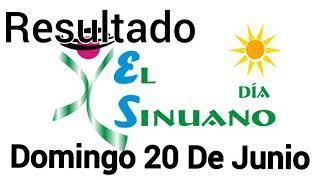 Resultado EL SINUANO DIA Del Domingo 20 De Junio del 2021