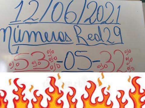 NUMEROS PARA HOY 12/06/2021 DE JUNIO PARA TODAS LAS LOTERIAS