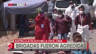 Brigadas Médicas fueron agredidas por vecinos de la zona de Alto Buena Vista, en Cochabamba