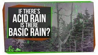 If There's Acid Rain, Is There Basic Rain?
