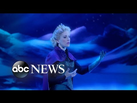 Disney's 'Frozen' makes its debut on Broadway